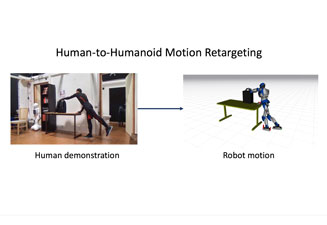Adaptive Whole-Body Manipulation in Retargeting