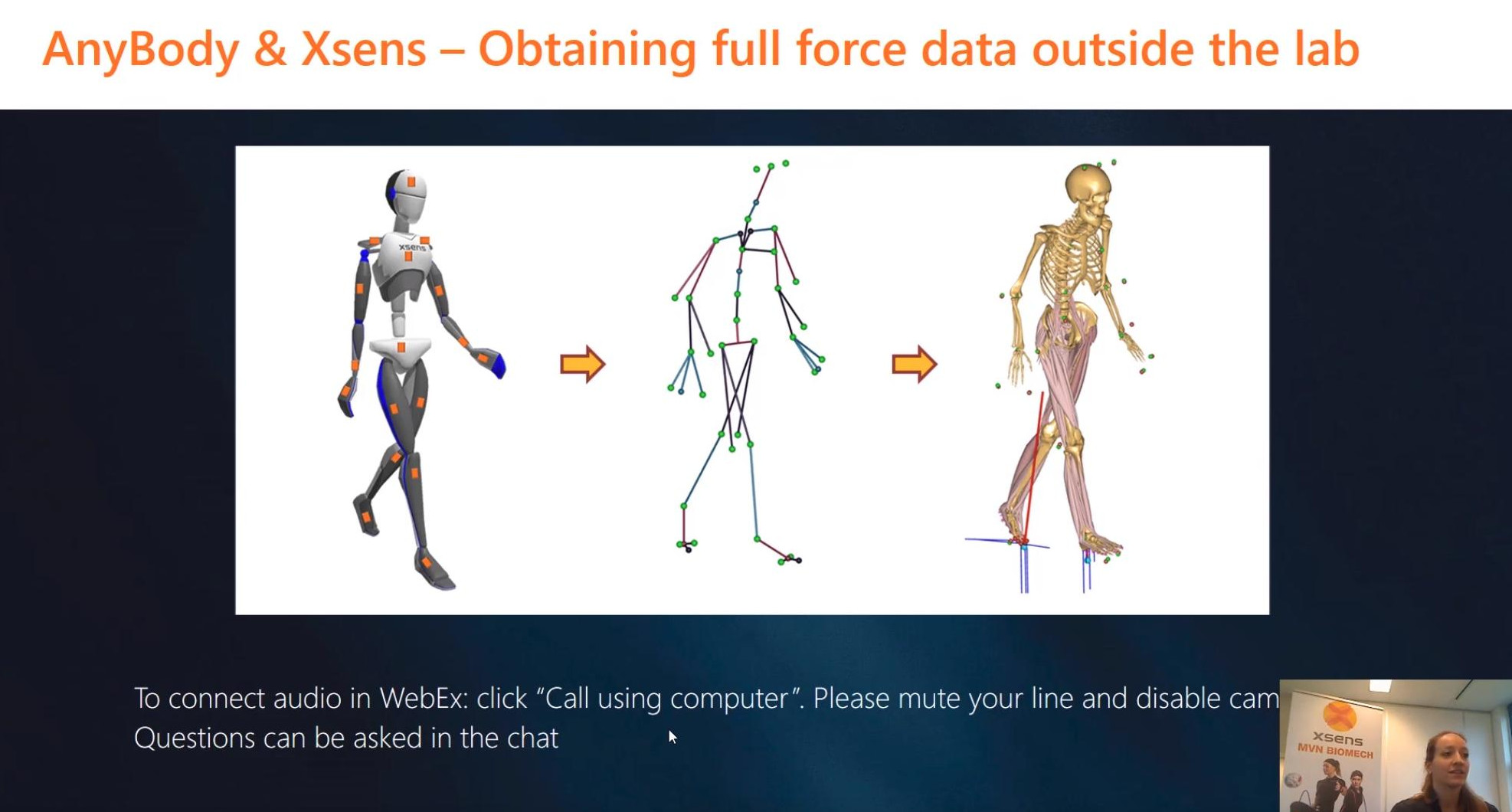 Outdoor Motion Capture and Musculoskeletal Simulations