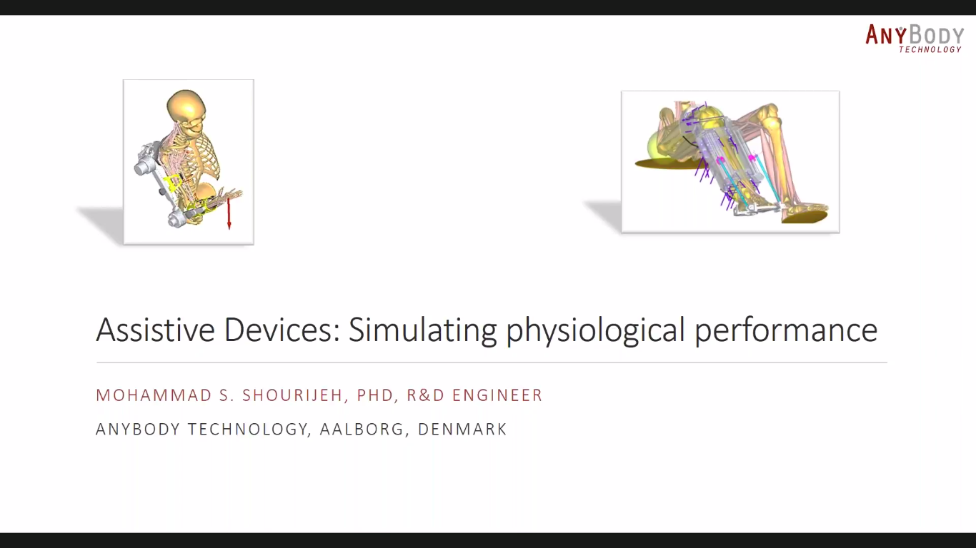 Assistive Devices: Simulating Physiological Performance